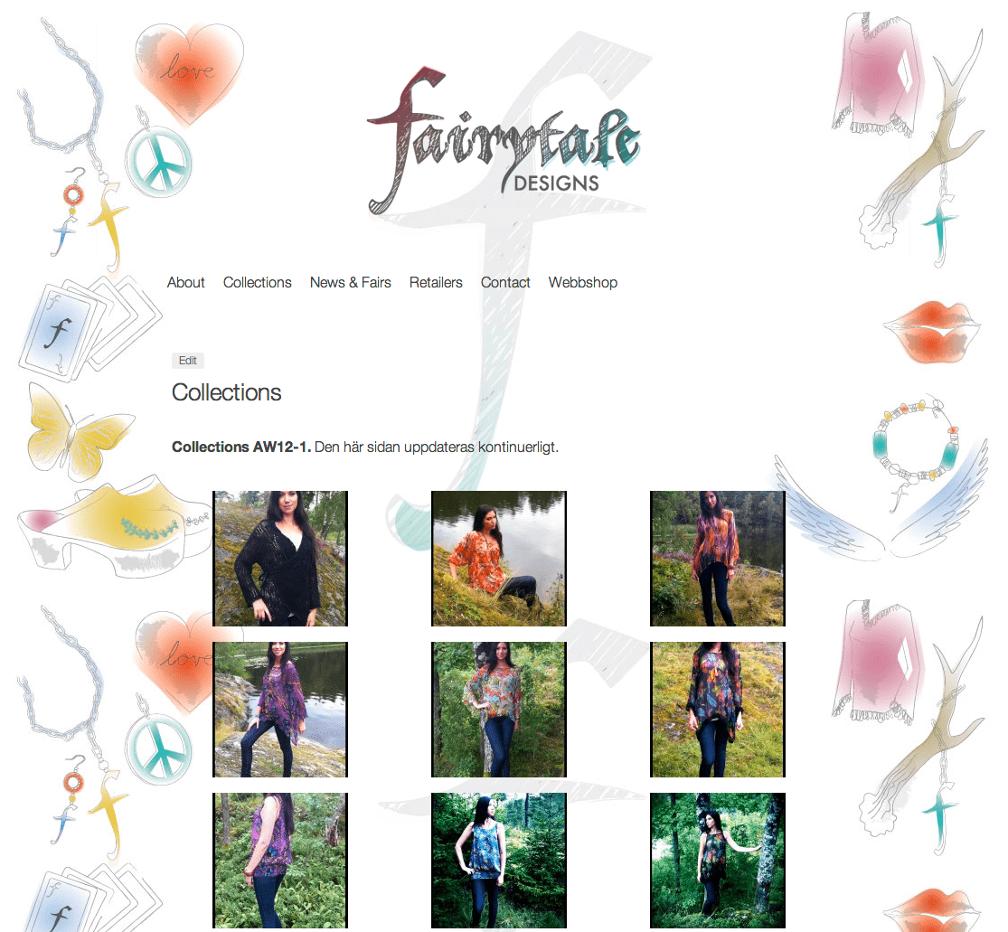 Fairytale, web site and logo 8