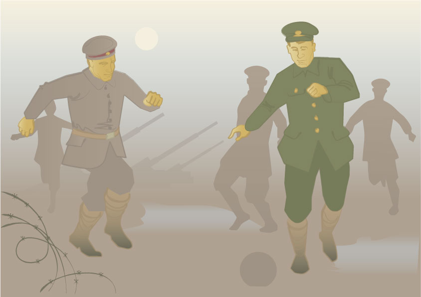 World war one football 3
