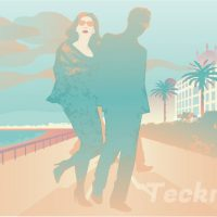 Nizza la bella, illustration by Robert Toth