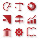 Icons for business areas
