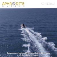Aphrodite marine webdesign
