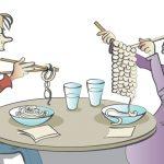 Pasta cartoon for giant crossword